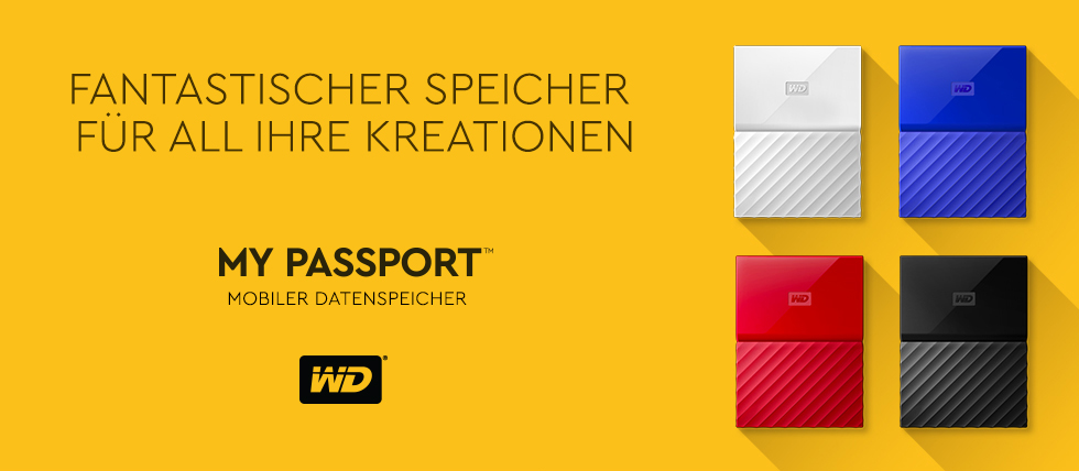 WD Western Digital My Passport Mobiler Datenspeicher